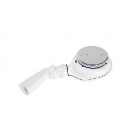 Сифон RADAWAY TURBOFLOW 2 для піддону ∅ 90 мм, кришка хром TB21