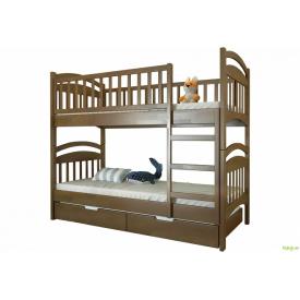 Кровать двухъярусная Смайл 80х190 сосна с комплектом ящиков Arbor Drev
