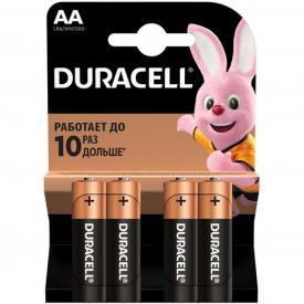 Батарейки DURACELL LR06 MN1500 упаковка по 4 шт