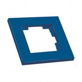 Рамка одномісна RITA Mutlusan синій