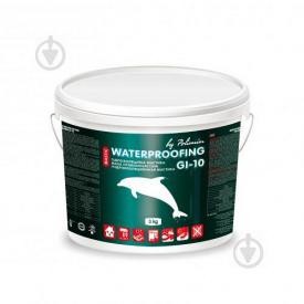 Однокомпонентна гідроізоляційна мастика Polimin GI-10 acrylic waterproofing mastic 3 kg