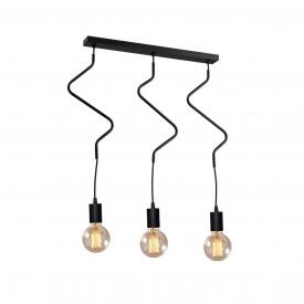 Светильник подвесной на три лампы MSK Electric NL 1442-3 ZIGZAG