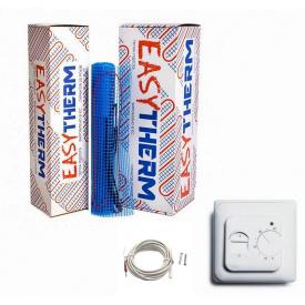Теплый пол под плитку EasyTherm Easymate 300Вт/ 1,5м² + Треморегулятор Ecoreg 16A