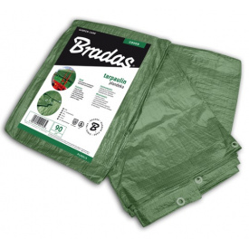 Водонепроникний Тент Bradas GREEN 90 г/м2 8х10м (PL908/10)