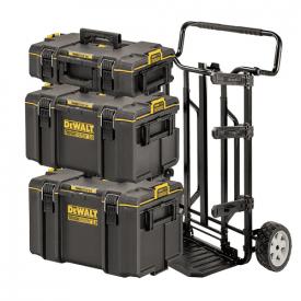 Комплект ящиков DeWALT TOUGHSYSTEM 2.0, 3 ящика на тележке (DWST83401-1)