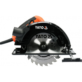 Пила дисковая ручная сетевая YATO 1.5кВт (YT-82152)