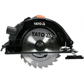 Пила дисковая ручная сетевая YATO 2.8кВт (YT-82154)