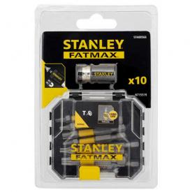 Набор бит STANLEY FatMax Torx, 50 мм, 10 шт пластиковый кейс (STA88566)