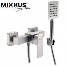 Смеситель для душкабины Mixxus Kub (Chr-003), Польша (нержавеющая сталь)