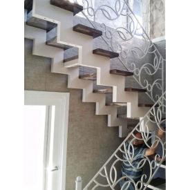 Проектирование прямой лестницы из нержавеющей стали