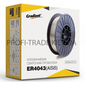 ER 4043 Дріт зварювальний Gradient алюмінієва 0,8 мм 0,5 кг