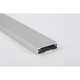 Алюминиевый рамочный профиль для мебельных фасадов М 7 5,95 м алюминий