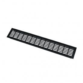 Вентиляційна решітка GTV алюмінієва 80x480 мм чорна