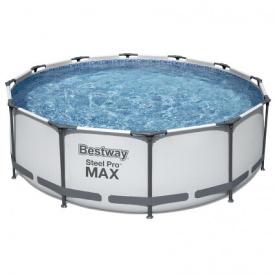 Каркасный бассейн Bestway 56260 (366x100 см) с картриджным фильтром