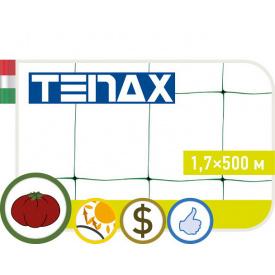 Сетка шпалерная Tenax Ортинет зелёная 1.7х500 м