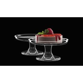 Подставка для торта маленькая Luigi Bormioli Buffet 100 мм