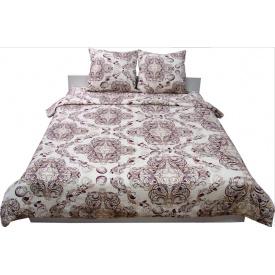 Комплект постельного белья Руно сатин 40-0485 Beige Brown семейный
