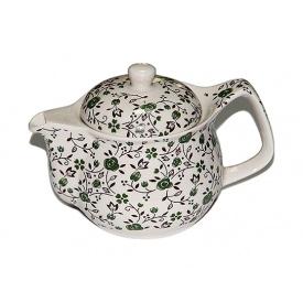 Чайник заварочный O'Lens керамический с металлическим ситом Зеленый 350 мл
