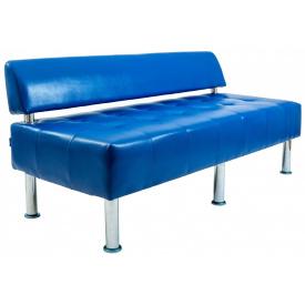 Диван Richman Офис Двойка 1550 x 680 x 750H см Со спинкой Rainbow Royal Blue Синий