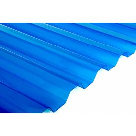Лист Salux HR синій прозорий трапеція 2x1,09 м