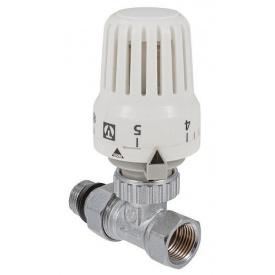 "Клапан Valtec з термостатичної головкою прямий 1/2"" VT.048.N.04"