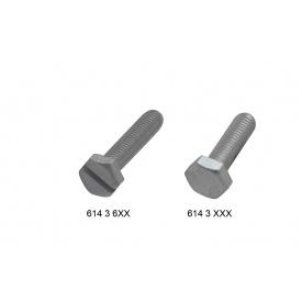BIS Болт с шестигранной головкой DIN 933 zp M10x60mм Walraven 6143960