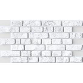 Кирпич ПВХ Регул Ретро белый 0,4х495х951 мм