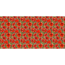 Панель ПВХ Регул Мозаика Маки 0,3х480х957мм