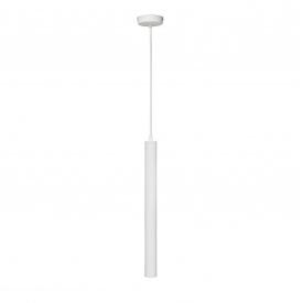 Светильник подвесной белый Трубка NL 4045 WH MSK Electric