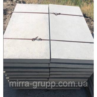 Плита дорожная Мирра-Груп 6П.5 1000х500х60 мм серая армированная