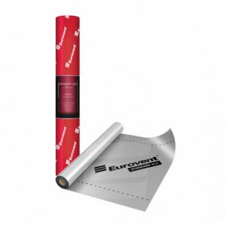 Пароізоляційна плівка Eurovent Standart ALU 130 фольгована