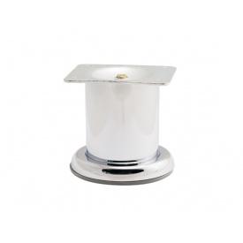 Опора нерегульована циліндрична GIFF Pillar 50/80 хром