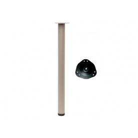 Опора для стола регулируемая GIFF Rondella 60/1100 сатин
