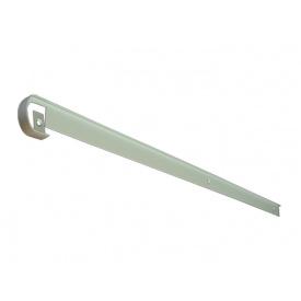 Стиковка стільниці пряма U-закруглена GIFF 28х600 алюміній