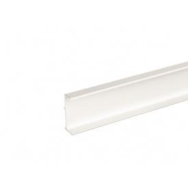 Профиль Gola L-образный универсальный Volpato Clap`n`FIT мм 4200 белый 80/G38