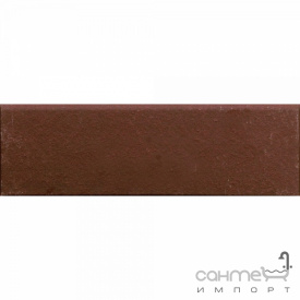 Клинкерная плитка плинтус 8x25 Gres de Aragon Cotto Rodapie Marron коричневая