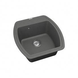 Кухонная Мойка Vankor Norton Nmp 01.48 Gray + Сифон Vankor