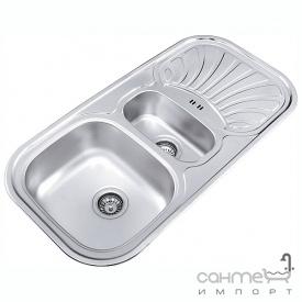 Кухонна мийка Ukinoх Galant 1000.500 15 GW 8K P н / с полірована оборотна