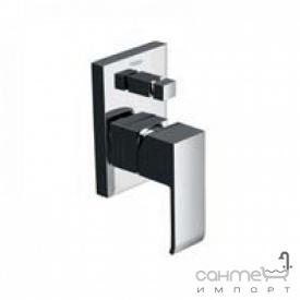 Змішувач для ванни вбудовується Tres Cuadro-Tres 1.06.180 Хром