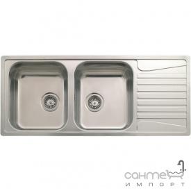 Кухонная мойка, интегрированный монтаж Reginox Admiral 30 LEFT (левосторонняя) Нержавеющая Сталь