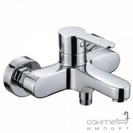 Смеситель для ванны настенный без душевого гарнитура Clever Seleccion Strata 98541 Хром