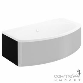 Бічна панель для ванни Polimat Elegance 00873 чорна