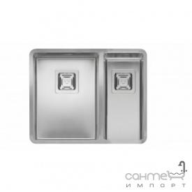 Кухонна мийка Reginoх Teхas 30х40+18х40 LEFT (лівостороння) Нержавіюча Сталь