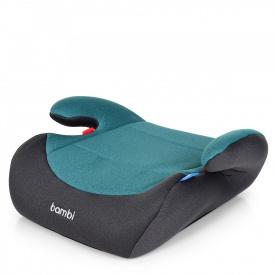 Автомобильное кресло-бустер Bambi M 2784 Gray Mix Azure (US00295)