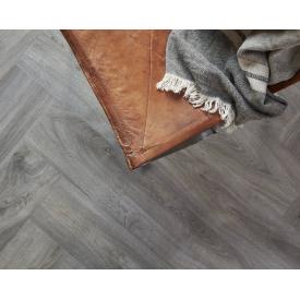 Вініловий підлогу Berry Alloc Style 60001565 Elegant Dark Grey