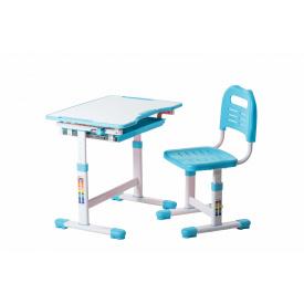 Комплект парта і стілець-трансформери Sole Blue