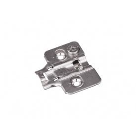 Планка монтажная эксцентриковая для петли GIFF PRIME мм 0 никель