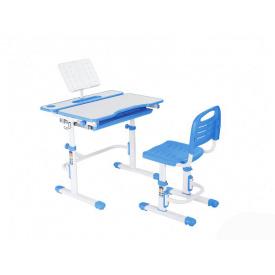 Ергономічний комплект парта і стілець-трансформери Botero Blue