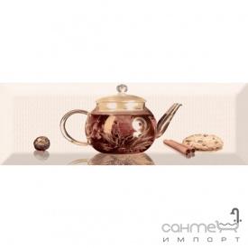 Плитка керамическая декор ABSOLUT KERAMIKA Serie Tea 01 A