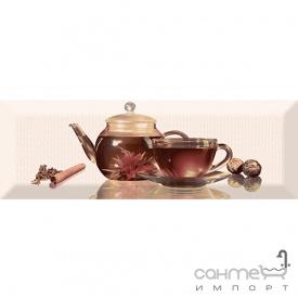 Плитка керамическая декор ABSOLUT KERAMIKA Serie Tea 01 C